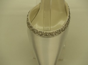 Special Occasions by Saugus Shoe Ivory Sophia 6830 Size US 8.5