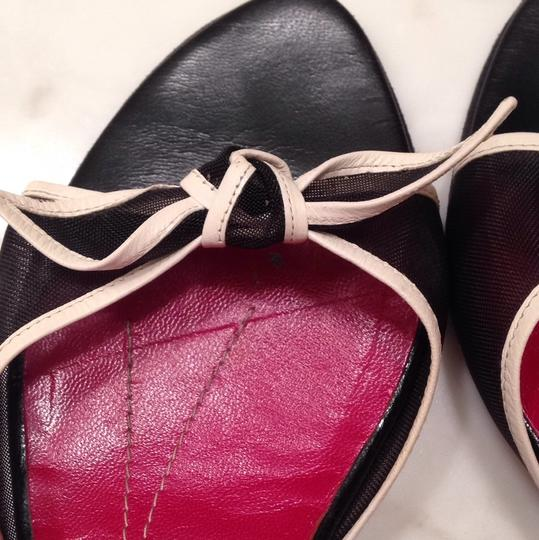 Kate Spade Black, white and red Sandals