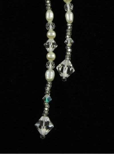 Toni Federici Pearls and Clear Crystals Nk 301 Necklace