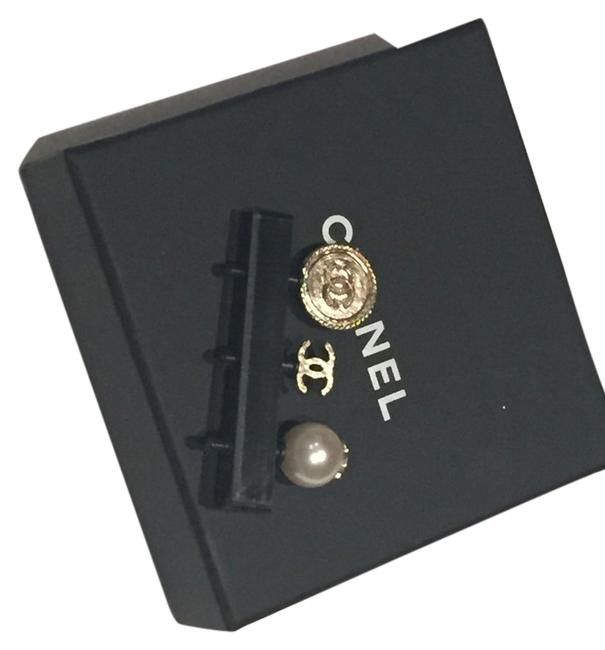 Item - Gold Pearl White New Phone Charm Tech Accessory