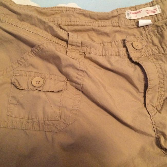No Boundaries Breathable Comfortable Cargo Shorts Khaki