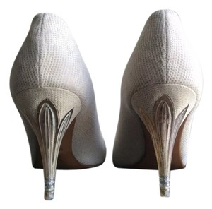 Marina Rinaldi White Pumps