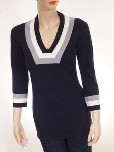 Tory Burch Womens Merino Wool Sweater