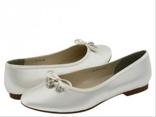 Touch Ups Touch Ups Ellie Nib 892m Size 7.5 White Wedding Shoes