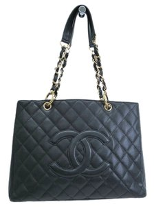 Chanel Grand Shopping Tote Gst Shoulder Bag