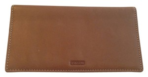 Coach Authentic Coach Leather Checkbook/Wallet