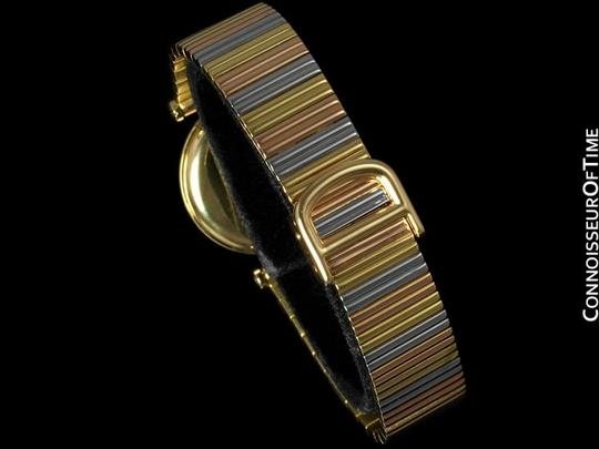 Cartier Cartier Vendome Ladies Trinity Watch - Solid 18K Yellow, White, & Rose