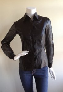 Gianfranco Ferre Button Down Shirt Black
