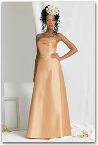 Bari Jay Gold Bari Jay 353 Gold Nwt Size 12 Dress