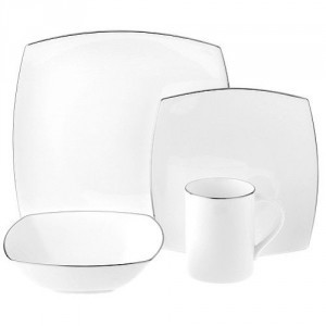 Mikasa Couture Platinum 4 Pc Place Setting