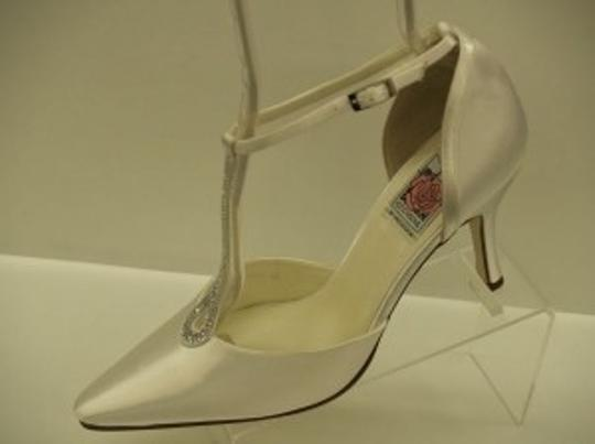 Special Occasions by Saugus Shoe White Angelina 70030 Formal Size US 9
