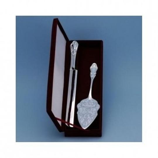 Silver Godinger Serving Set