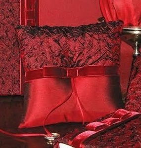 Other Beverly Clark Serenade Collection Lush Red Pi Ring Bearer Pillow