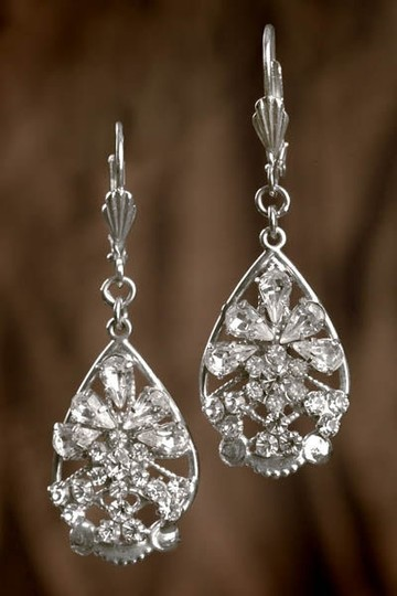Silver Erica Koesler Filigree Earrings