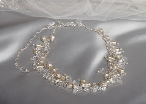 Erica Koesler Pearl & Crystal Amazing Necklace Nw