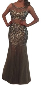 Jovani Rhinestones Mermaid Mermaid Sparkling Dress
