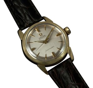 Omega 1961 Omega Seamaster Vintage Mens Midsize Automatic Watch - 14K Gold Filled