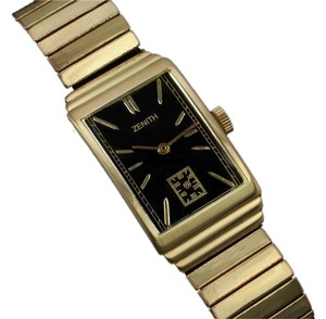 Zenith 1940's Zenith Vintage Mens Dress Watch - 14K Gold