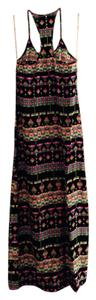 Black Maxi Dress by Alice & Trixie Print Silk Maxi Spring Summer