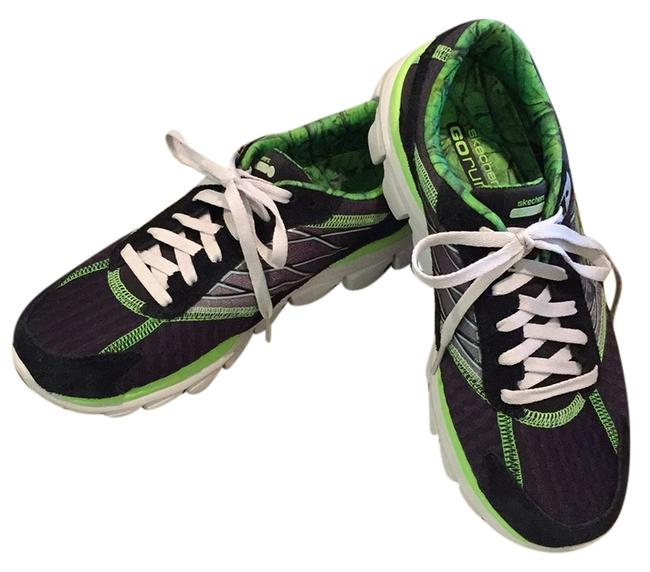 Item - Black and Bright Green Sn13899 Sneakers Size US 8.5 Regular (M, B)
