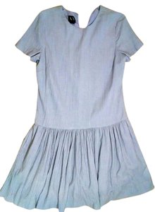 A|X Armani Exchange short dress purple Size 6 Knee Length Short Sleeves P1556 on Tradesy