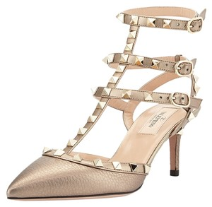 Valentino Metallic Sandals