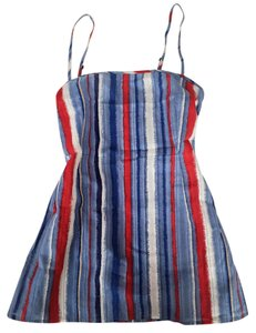 Marc by Marc Jacobs Top red, white, blue, tan, navy, sky blue