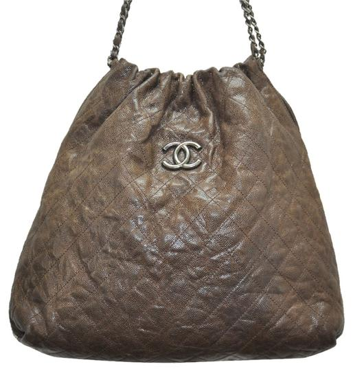Preload https://item3.tradesy.com/images/chanel-distressed-leather-hobo-bag-brown-4862032-0-0.jpg?width=440&height=440