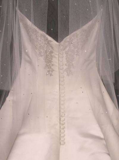 Diamond White Medium S547vl Bridal Veil