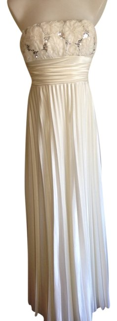 Preload https://item2.tradesy.com/images/speechless-ivory-rose-and-sequence-pleated-gown-long-formal-dress-size-6-s-4862206-0-0.jpg?width=400&height=650