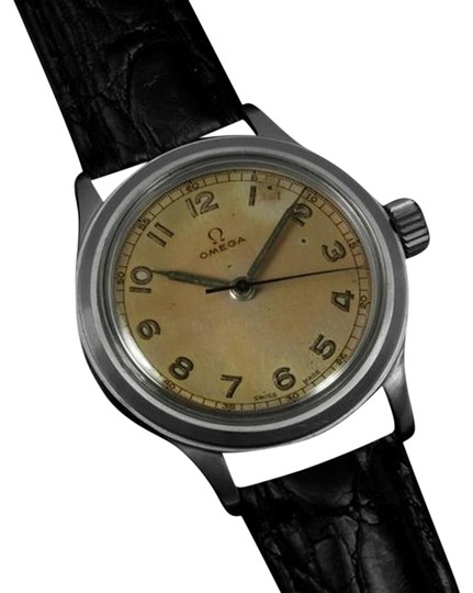 Preload https://item3.tradesy.com/images/omega-1947-omega-vintage-ref-21794-ss-steel-military-style-watch-4862392-0-1.jpg?width=440&height=440