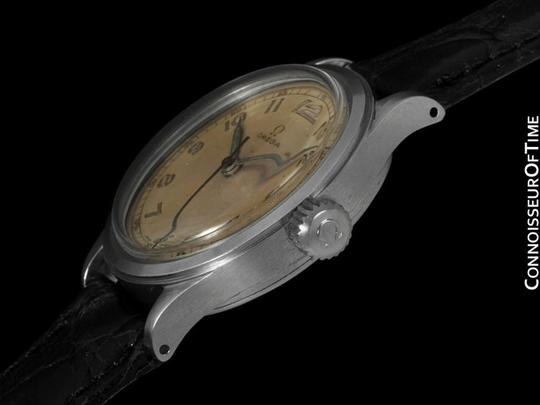 Omega 1947 Omega Vintage Ref. 2179/4, SS Steel - Military Style Watch