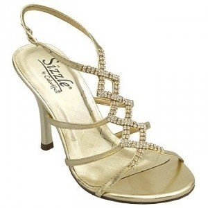 Coloriffics Coloriffics 107m Capri Gold Nib Size 6.8 Or 8 Avai Wedding Shoes