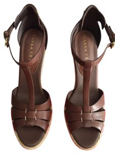 Ivanka Trump Brown Wedges