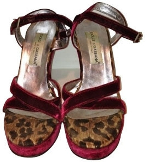 Preload https://item4.tradesy.com/images/dolce-and-gabbana-burgundy-velvet-with-sandals-size-us-95-4863-0-0.jpg?width=440&height=440