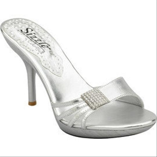 Coloriffics Coloriffics 144m Corsica Silver Size 6.5 Nib Wedding Shoes