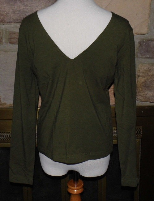 Worth Top Olive Green