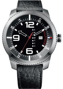 Tommy Hilfiger Tommy Hilfiger 1791014 Silver Analog Watch With Black Dial