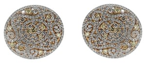 BRAND NEW, Ladies Rose Gold Diamond Earrings