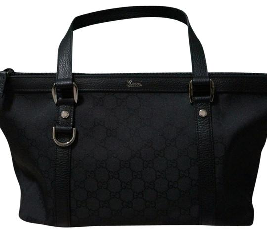 Gucci Dustbag Included Tote in black