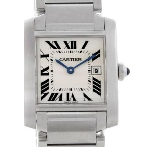 Cartier Cartier Tank Francaise W51011q3 Wrist Watch For Unisex