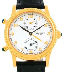Patek Philippe Patek Philippe Calatrava Travel Time Yellow Gold Ladies Watch 4864J