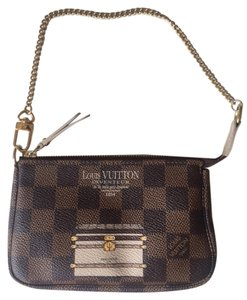 Louis Vuitton Minipochette Trucksandlocks Wristlet in Brown