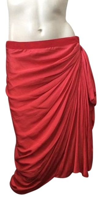 Preload https://item2.tradesy.com/images/lanvin-red-ruched-wrap-knee-length-skirt-size-12-l-32-33-4864021-0-0.jpg?width=400&height=650