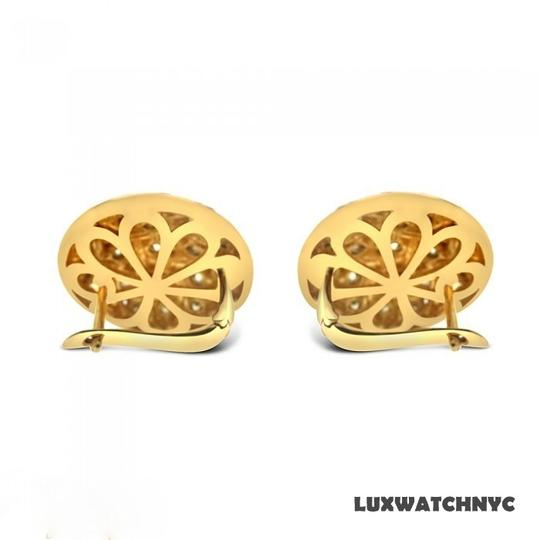 Other BRAND NEW, Ladies Yellow Gold White and Yellow Diamond Stud Earrings Image 1
