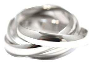 Cartier Cartier 18K White Gold Trinity Ring US SIZE 5
