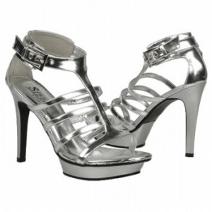 Coloriffics Coloriffics 949m Platform Silver Size 8 Nib Wedding Shoes