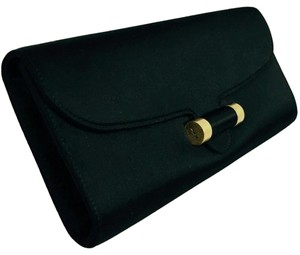 Saint Laurent Ysl Designer Satin Clutch
