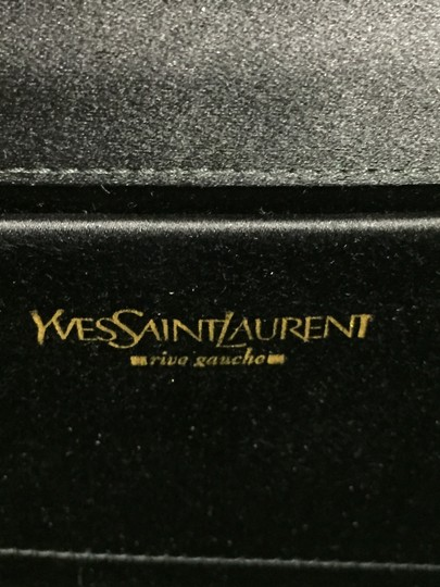 Saint Laurent Ysl Designer Satin Clutch Image 6