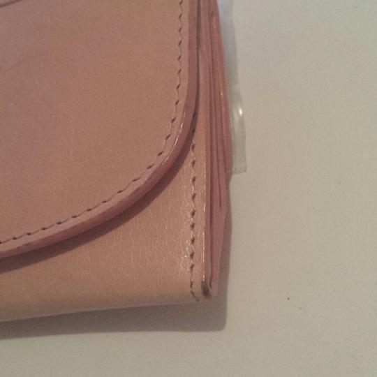 Abas nude leather vintage weekender wallet